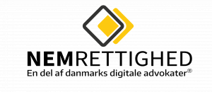 NEMRETTIGHED logo